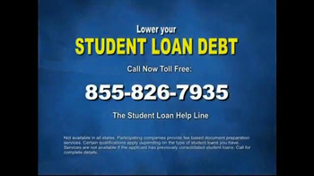 Student Loan Help Line TV Spot, 'Government Programs Available' - Thumbnail 9