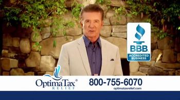 Optima Tax Relief TV Spot, 'Fresh Start Initiative' Featuring Alan Thicke