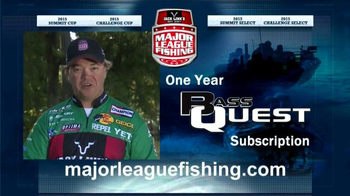 Major League Fishing: Extended Cast TV Spot, 'Bass Quest' - Thumbnail 4
