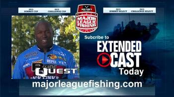 Major League Fishing: Extended Cast TV Spot, 'Bass Quest' - Thumbnail 9