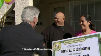 Publishers Clearing House Set for Life Prize TV Spot, 'March 2015' - Thumbnail 4