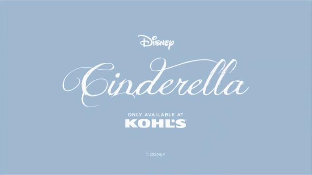 Kohl's TV Commercial, 'Cinderella Collection by Disney'