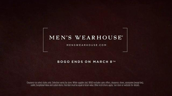 Men's Wearhouse Clearance Savings TV Spot, 'Select Suits and Shirts' - Thumbnail 10