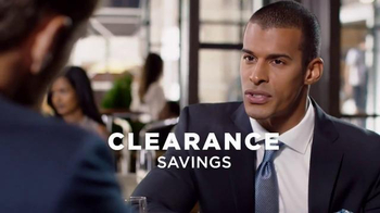 Men's Wearhouse Clearance Savings TV Spot, 'Select Suits and Shirts'