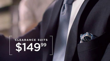 Men's Wearhouse Clearance Savings TV Spot, 'Select Suits and Shirts' - Thumbnail 4