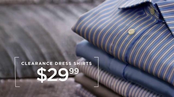 Men's Wearhouse Clearance Savings TV Spot, 'Select Suits and Shirts' - Thumbnail 5