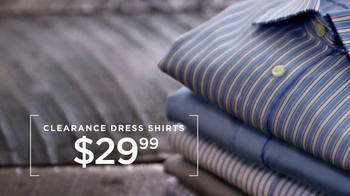 Men's Wearhouse Clearance Savings TV Spot, 'Select Suits and Shirts' - Thumbnail 6