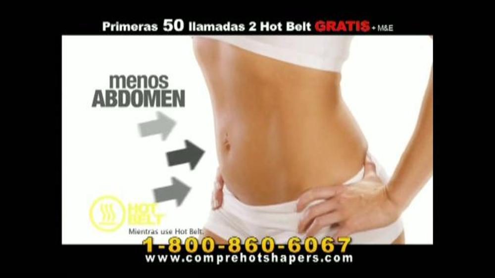 Hot Shapers Hot Belt TV Commercial, 'Resoluciones de A??o Nuevo'