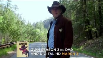 Longmire: The Complete Third Season DVD TV Spot - Thumbnail 2