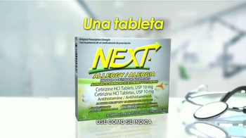 Next Allergy TV Spot, 'Síntomas de la Alergia' [Spanish] - Thumbnail 4