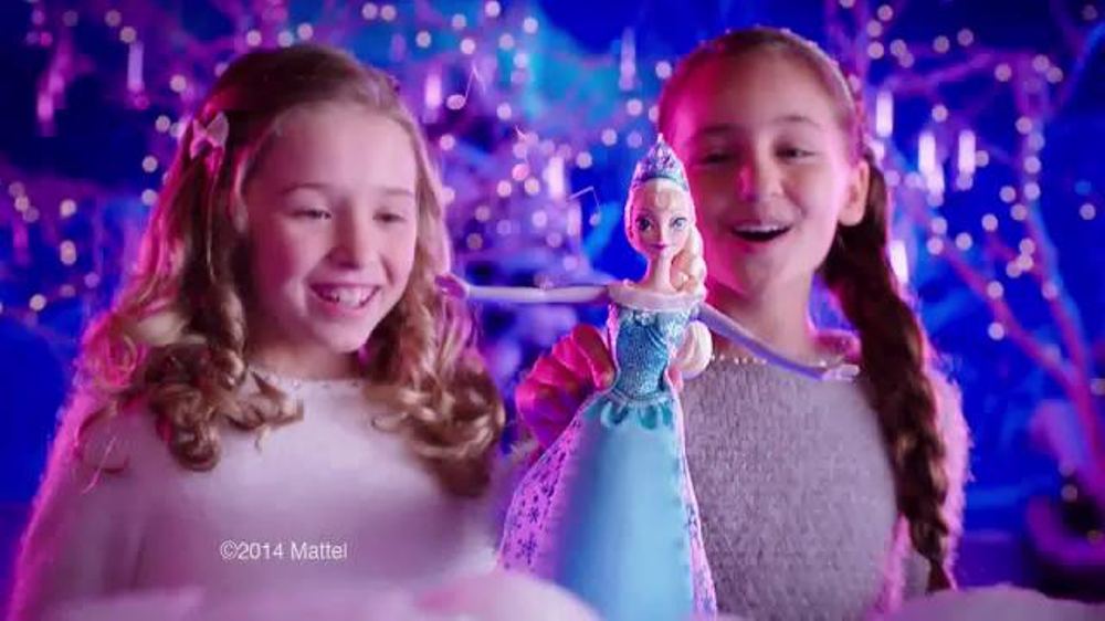 Disney Frozen Singing Anna Elsa Amp Olaf Tv Commercial