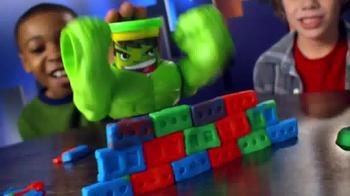 Play-Doh Marvel Can-Heads TV Spot, 'Smash Down Hulk'