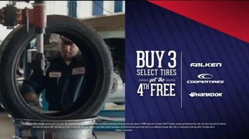 PepBoys Buy Three Tires, Get One Free TV Spot, 'Need New Tires?' - Thumbnail 4