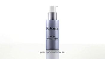 Neutrogena Rapid Wrinkle Repair TV Spot, 'High Hopes' Feat. Julie Bowen - Thumbnail 6