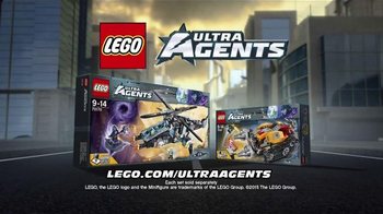 LEGO Ultra Agents TV Spot, 'Man the Ultra Copter' - Thumbnail 10