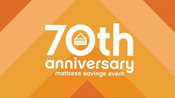 Ashley Furniture 70th Anniversary Mattress Savings Event TV Spot, 'Now' - Thumbnail 2