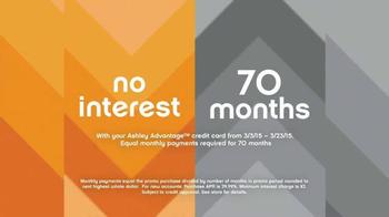 Ashley Furniture 70th Anniversary Mattress Savings Event TV Spot, 'Now' - Thumbnail 6