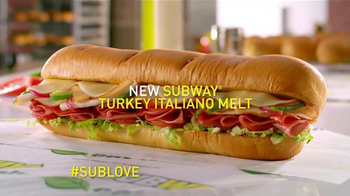Subway Turkey Italiano Melt TV Spot, 'Beautiful Sandwich' - Thumbnail 10