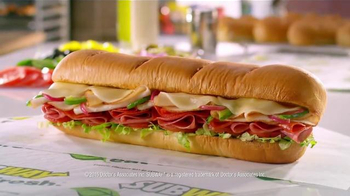 Subway Turkey Italiano Melt TV Spot, 'Beautiful Sandwich' - Thumbnail 8