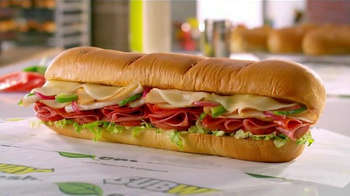 Subway Turkey Italiano Melt TV Spot, 'Beautiful Sandwich' - Thumbnail 9