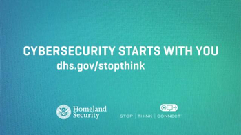 Department of Homeland Security TV Spot, 'Cybersecurity Starts with You' - Thumbnail 6