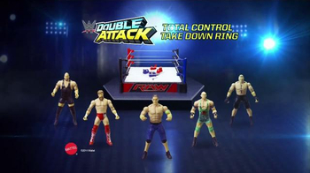 WWE Double Attack Total Control Playset TV Spot, 'Let the Games Begin' - Thumbnail 9