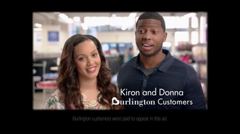 Burlington Coat Factory TV Spot, 'Kiron and Donna' - Thumbnail 1