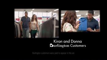 Burlington Coat Factory TV Spot, 'Kiron and Donna' - Thumbnail 2