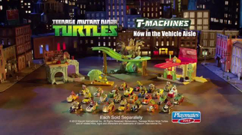 Teenage Mutant Ninja Turtles T-Machines TV Spot, 'The Chase' - Thumbnail 10