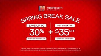Hotels.com Spring Break Sale TV Spot, 'Captain Obvious Workout' - Thumbnail 10
