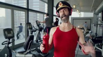 Hotels.com Spring Break Sale TV Spot, 'Captain Obvious Workout' - Thumbnail 2