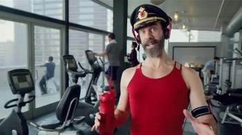 Hotels.com Spring Break Sale TV Spot, 'Captain Obvious Workout' - 845 commercial airings