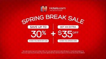 Hotels.com Spring Break Sale TV Spot, 'Captain Obvious Workout' - Thumbnail 9