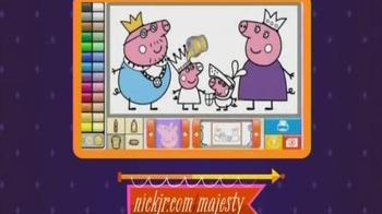 NickJr.com/Majesty TV Spot, 'Your Majesty Month'