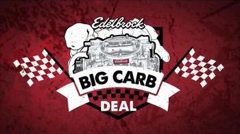 Edelbrock Big Carb Deal TV Spot, 'The Deal is Back'