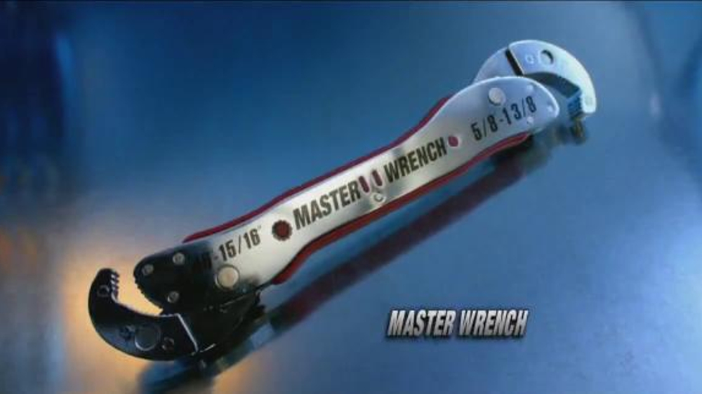 Master Wrench TV Commercial, 'Waste Time No More'