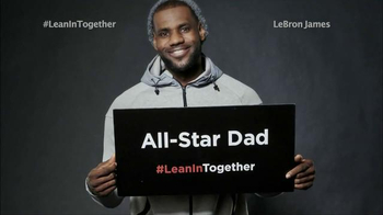 LeanIn Together TV Spot, \'NBA & WNBA Stars Are In ? Are You?\'