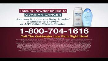 Goldwater Law Firm TV Spot, 'Talcum Powder' - Thumbnail 9
