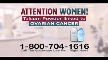 Goldwater Law Firm TV Spot, 'Talcum Powder' - Thumbnail 2