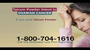 Goldwater Law Firm TV Spot, 'Talcum Powder' - Thumbnail 4