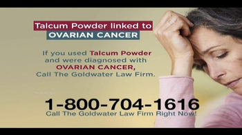 Goldwater Law Firm TV Spot, 'Talcum Powder' - Thumbnail 5
