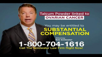 Goldwater Law Firm TV Spot, 'Talcum Powder' - Thumbnail 8