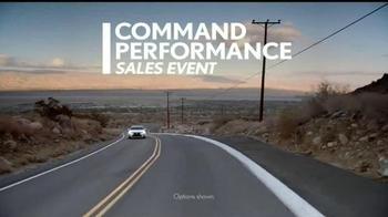 Lexus Command Performance Sales Event TV Spot, 'Come Experience' - Thumbnail 1