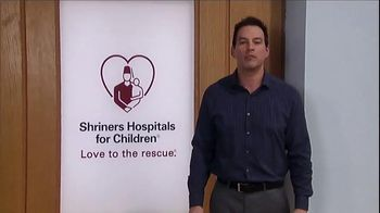Shriners Hospitals For Children TV Spot, 'Hope' Featuring Tyler Christopher