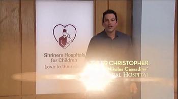 Shriners Hospitals For Children TV Spot, 'Hope' Featuring Tyler Christopher - Thumbnail 1