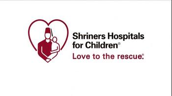 Shriners Hospitals For Children TV Spot, 'Hope' Featuring Tyler Christopher - Thumbnail 10