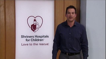 Shriners Hospitals For Children TV Spot, 'Hope' Featuring Tyler Christopher - Thumbnail 4