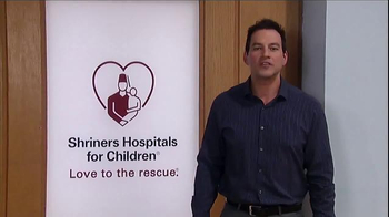 Shriners Hospitals For Children TV Spot, 'Hope' Featuring Tyler Christopher - Thumbnail 6