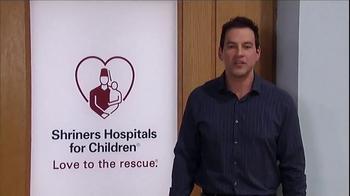 Shriners Hospitals For Children TV Spot, 'Hope' Featuring Tyler Christopher - Thumbnail 8
