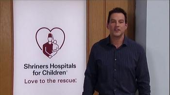 Shriners Hospitals For Children TV Spot, 'Hope' Featuring Tyler Christopher - Thumbnail 9